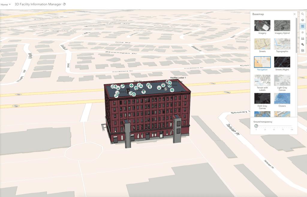 Screenshot showing building